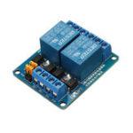 Оригинал BESTEP 2 канал 5V Релейный модуль с высоким и низким уровнем триггера для Auduino