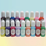 Оригинал Твердый цвет пигмента 18 Цвета UV Смола краска для красителей Клей красителя DIY Арт-крафт-бутылка