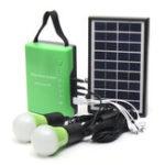 Оригинал Портативный 3W 9V Солнечная Панельный генератор питания USB-кабель Charge Emergency Светодиодный System