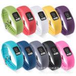 Оригинал Colorful Стандарты Запасные часы Стандарты для Garmin Vivofit 4