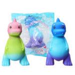 Оригинал Большой динозавр Squishy 20 * 12,5 * 11,7 CM Soft Медленный рост с коллекционной подарочной упаковкой