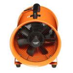 Оригинал 12-дюймовый вытяжной вентилятор Вентилятор подвала Промышленный гараж Высокое вращение