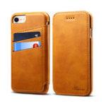 Оригинал BakeeyУниверсальныеPUкожаныеслотыдля карт Kickstand Protective Чехол Для iPhone 8/iPhone 7 / iPhone 6 / iPhone 6s