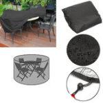 Оригинал 110x185cmНаоткрытомвоздухеРаундСад Мебельная обивка Защитная пыль для пыли на 4 места