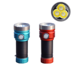 Оригинал AmutochX9Type-CUSBRechargealeUSB зарядка Super Bright 26650 EDC светодиодный фонарик