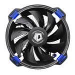 Оригинал 120 мм 1600RPM DC 12V LED Эффект Вентилятор охлаждения процессора для Intel AMD 3-контактный гидравлический подшипниковый вентилятор