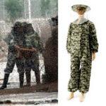 Оригинал BeeKeeping Suit BeeKeeper Защитное оборудование Veil Шапка Smok Full Body Camo