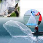 Оригинал РучнаяброскаРыбалкаЧистаяNylonЛиния наживки Литьевая уловка Рыбная сетка Sinker Веревка 360 см