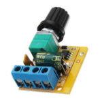Оригинал 10pcs Mini DC 4.5V до DC 35V 5A 90W DC Мотор PWM Регулятор скорости регулятора скорости Регулируемая панель переключателя