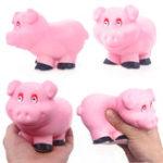 Оригинал Fan Pig Squishy 13.2 * 8.2CM Soft Медленное восхождение с коллекцией подарков для подарков