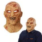 Оригинал Halloween Prop Латекс Horror Burn Monster Full Face Маска Страшный костюм HeadМаска