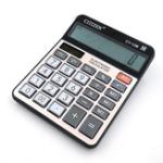Оригинал GTTTZEN CY-12M Dual Power Calculator Электронный калькулятор 12 цифр Компьютерные ключи Компьютерный офис