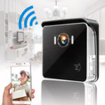 Оригинал Беспроводной дверной звонок камера WiFi Дистанционный Видеодомофон IR Телефон безопасности Bell