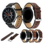 Оригинал BakeeyЗапаснаякожаWatchСтандартыРемень подходит для Samsung Galaxy 46mm Smart Watch