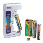 Оригинал AA AAA 1.5V 9V Цифровой Батарея Тестер Универсальный Батарея Тестер емкости Lithium Батарея Контроллер блока питания Измерение Набор