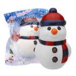 Оригинал Cooland Christmas Snowman Squishy 14.4 × 9.2 × 8.1CM Soft Медленное восхождение с коллекцией подарков для подарков