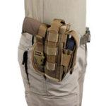 Оригинал Пистолет-кобураMollleВоенныйКамуфляжIWBOWB Тактическая кобура для 92 1911 Все размеры Пистолеты