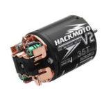 Оригинал Yeah Racing Hackmoto V2 Модифицированный 35T 540 Матовый Мотор Вал 3 мм для 1/10 Rc Авто Запчасти