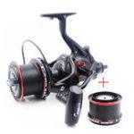 Оригинал БёбингCoonorNFR900012+1BB 4.6: 1 Двойная разгрузка Спиннинг Рыбалка Катушка для всех металлических колес