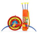 Оригинал 54смДетскаяигрушкаЛукистрела Стрельба из лука Цель стрельбы набор На открытом воздухе Сад Fun Game Toy