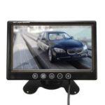 Оригинал 7 дюймов TFT LCD Цвет CCTV Авто Безопасность Видеорегистратор камера Обратное резервное копирование Монитор