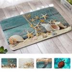 Оригинал 40x60cm3DпечатныековрикиAnti-SlipSoft Коврик для ковров для ковровых покрытий Sea Turtle Shell Шаблон Коврики