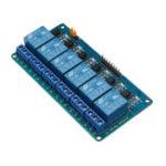 Оригинал BESTEP 6 Канал 5V Релейный модуль с защитой от оптопары Низкоуровневый триггер для Arduino