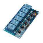 Оригинал BESTEP 6-канальный 12-вольтовый реле с низким уровнем триггера с изоляцией оптопары для Arduino