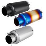 Оригинал Универсальный шумоглушитель с глушителем из нержавеющей стали 51 мм Набор для мотоцикл Scooter