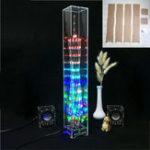 Оригинал Акриловая оболочка для DIY Светодиодный Cube Canton Tower Electronic Набор