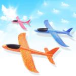 Оригинал EPPFoamHandThrowСамолетзапускает планер самолета На открытом воздухе Kids Toy Convolution