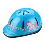 Оригинал РегулируемаяЛошадьRidingSafeШапкаUnicorn Racing Cap Вентилируемый шлем для детей Детские велосипедные шлемы