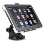Оригинал 7 дюймов 8GB 7 LED Bluetooth Беспроводная связь Авто GPS навигация Вид сзади Вид сзади камера AV-IN
