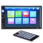 Оригинал 7 дюймов 2 Din Stereo Авто MP5 Player Bluetooth Сенсорный экран Радио FM USB AUX + камера