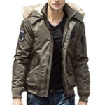 Оригинал ОсенняязимаТолстаятеплаяскапюшоном повседневная куртка для мужчин