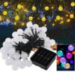 Оригинал 50 LED Солнечная Powered Christmas Fairy String Light Party На открытом воздухе Патио Сад Декоративный Лампа
