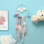 Оригинал Освещение LED Перо Dreamcatcher Кулон Dream Catcher House Decor Accessary Light