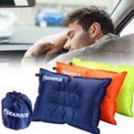 Оригинал Надувнойсамонадувающийсяподушкаподушкиподушкидля воздуха На открытом воздухе Кемпинг Походная подушка для путешествий