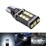 Оригинал 1Pcs T15 W16W 2835 15SMD LED Резервный обратный свет Поворотная лампа Лампа DC12V 11W Canbus Free