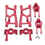Оригинал 6PCS Wltoys K949 10428A BC 1/10 Rc Авто Детали для модернизации Нижняя поворотная консоль для рулевого управления C Style Set Seat Set