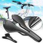 Оригинал BIKIGHTCarbonFiberBikeВелосипедСедло Seat Hollow 3K Matte Ultralight Велоспорт Седло для дорожного велосипеда MTB