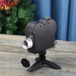 Оригинал Mini Holiday Video Window Проектор Лампа Хэллоуин Рождественский свет 12 фильмов