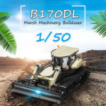 Оригинал Новый Редкий 1/50 Liugong B170DL Marsh Machinery Bulldozer DieCast Model Toy Gift