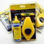 Оригинал 15M50FTChalkStringLineReel Level Set Набор Blue 110G Powder Набор ABS Пластик