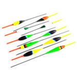 Оригинал 10pcs/lot17-22.5cmДеревянныйStandable Barr Fir Fish Float Hard Bait Рыбалка Приманка Рыбалка Float