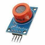 Оригинал 10Pcs MQ3 Спирт этанол Датчик Газ для обнаружения этанола для газа с дымом Датчик Модуль для Arduino