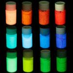Оригинал Glow in Dark Paint Black Light Night Fluorescent UV Ultraviolet Paint Super Bright Art