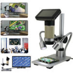 Оригинал 10X-300X Digital Inspection Microscope PCB Repair HDMI USB Full HD 3.0MP камера