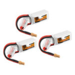 Оригинал 3Pcs ZOP Power 11.1V 450mAh 35C 3S Lipo Батарея XT30 Plug