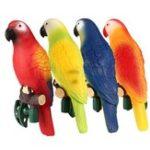 Оригинал 4PcsСолнечнаяПриведенныйвдействиеНа открытом воздухе Сад Путь орнамента Новизна Птица птицы LED Ночной свет
